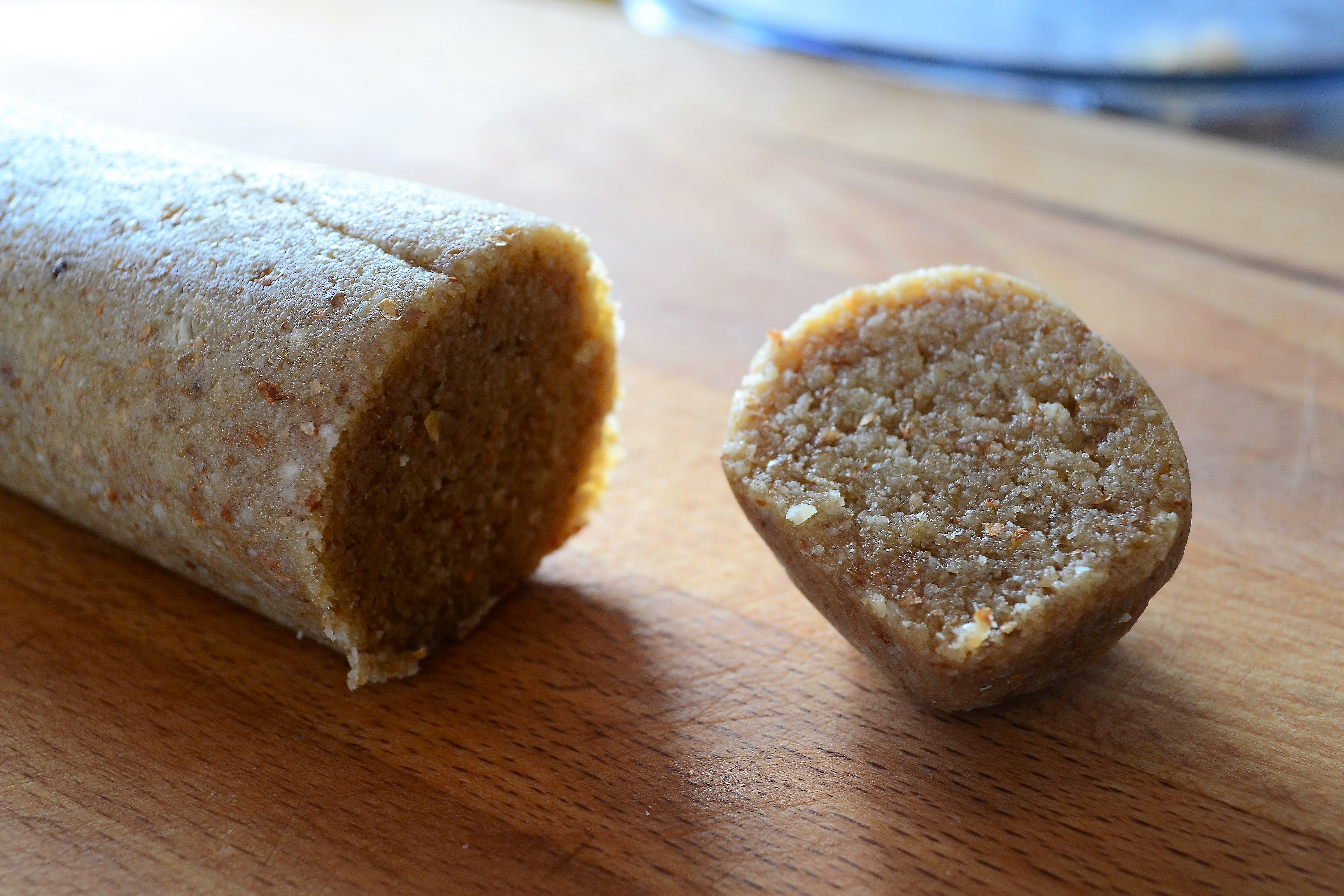Easy to make, two ingredient marzipan.